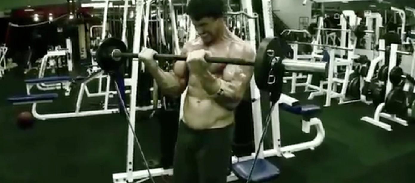 Greg Plitt - Curl Superiority Workout