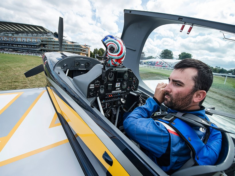 Kevin Coleman's 'G-Forces' Core Circuit for the Red Bull Air Indy Race