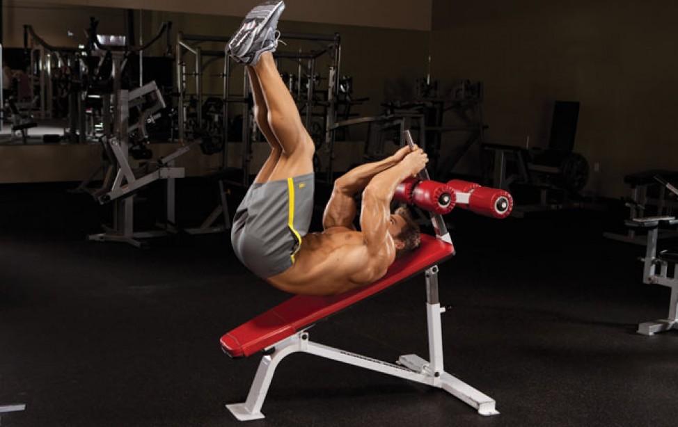 Gym Fix: The Reverse Crunch