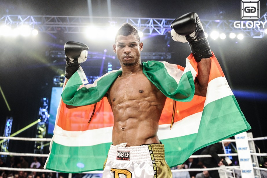 Andy Ristie Wins Lightweight Title at Glory 12
