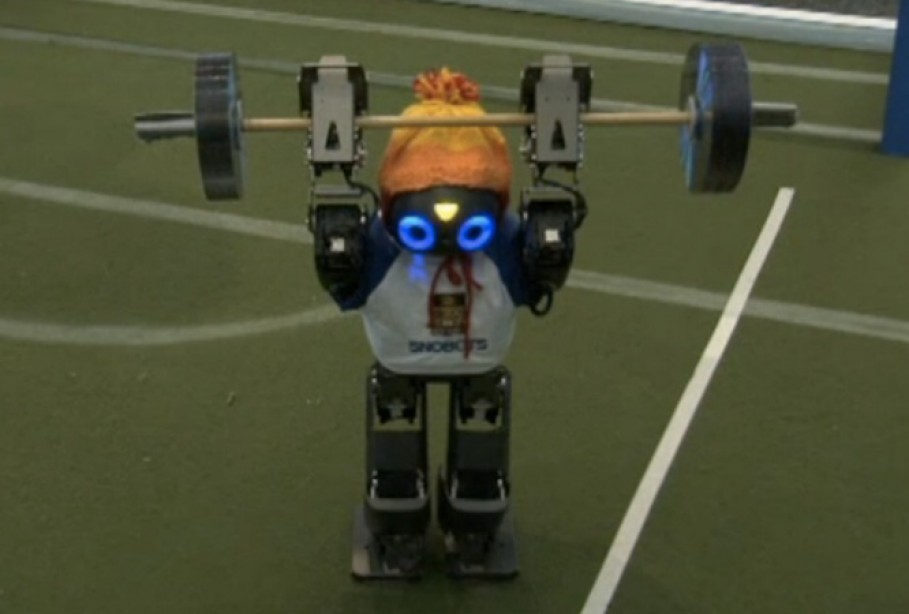 Weightlifting Takes a Bow at the Robot World Cup