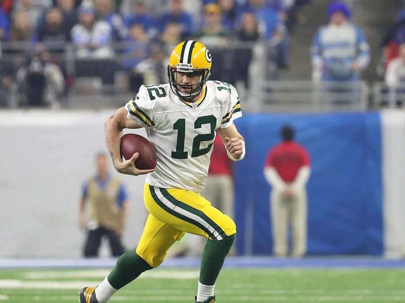 Aaron Rodgers' Hard Core Quarterback Workout Plan