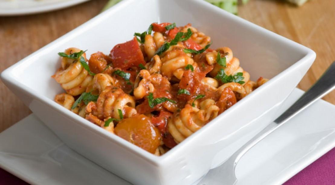Healthy Eats: Roma Tomato Pasta
