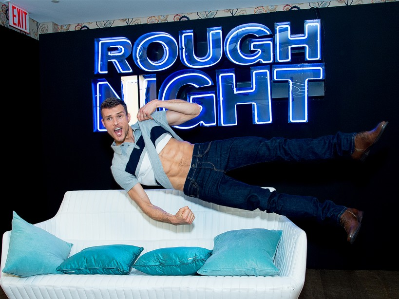 Ryan Cooper's 'Rough Night' Stripper Workout