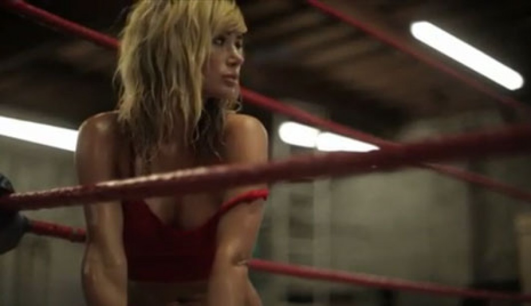 In the Ring With Sara Underwood [VIDEO]
