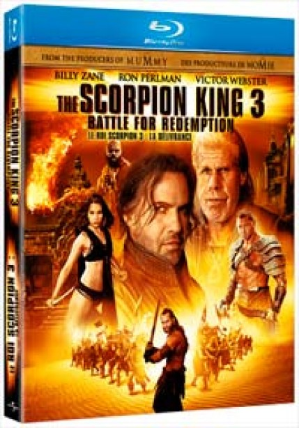 Win a Copy of The Scorpion King 3: Battle For Redemption!