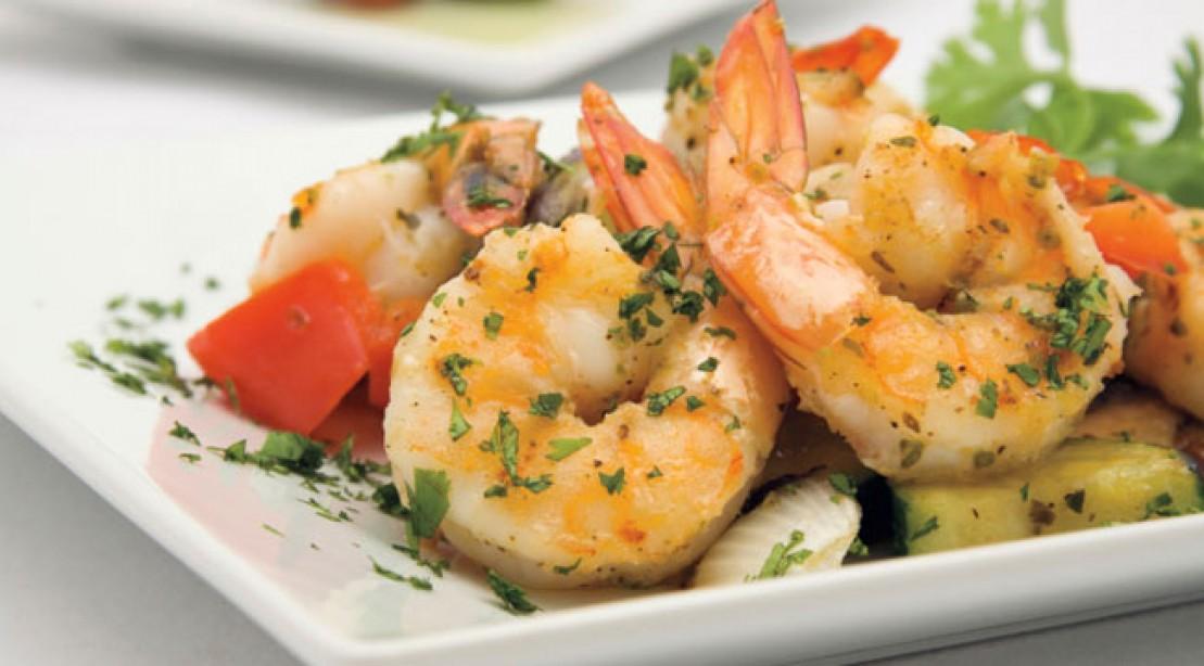 10 Minute Meal: Shrimp Stir-Fry