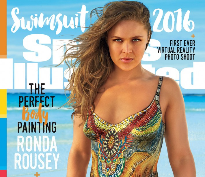 Ronda Rousey on the 2016 Sports Illustrated Swimsuit issue.