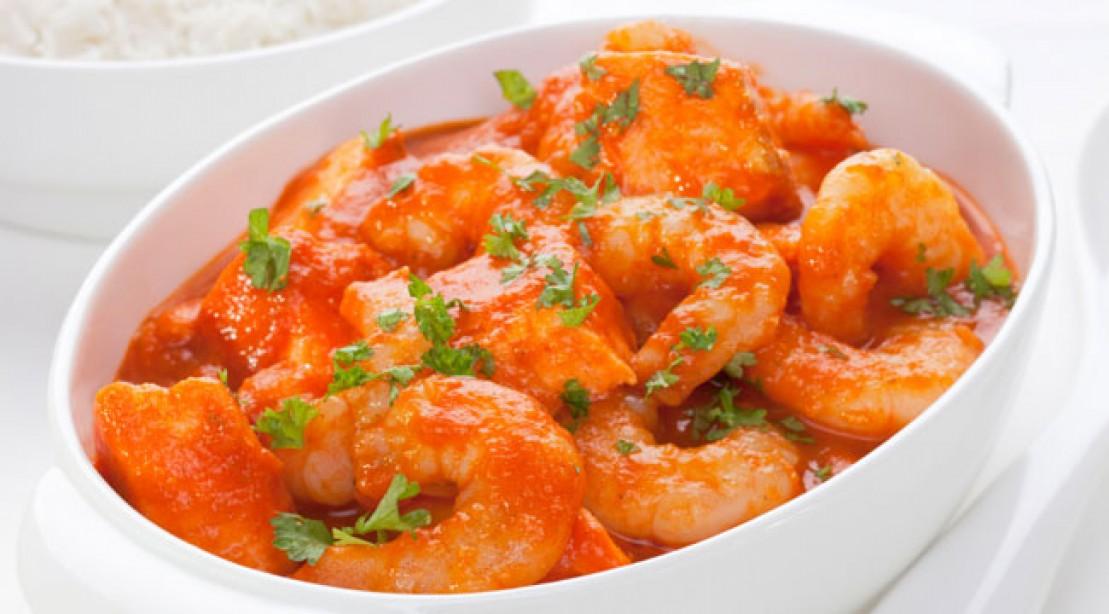 Simple, low-fat shrimp marinara recipe