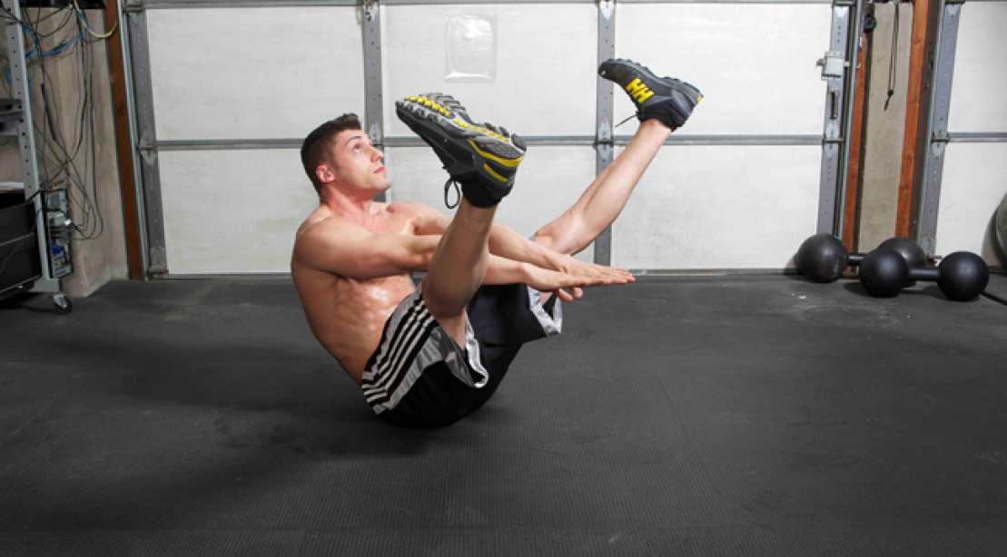 Fly Like an Eagle for Stronger Abs