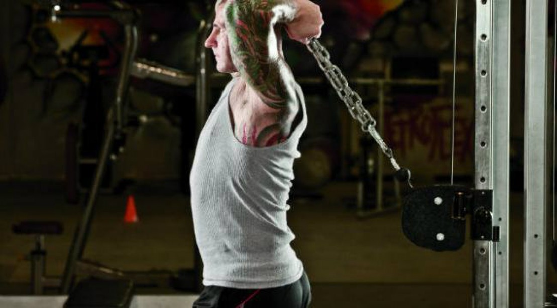 Over The Top - Cable Overhead Triceps Extensions