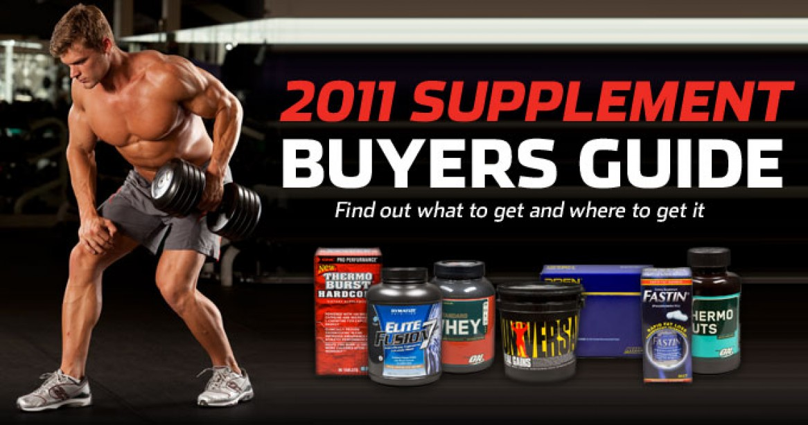 2011 Supplements Buyers Guide