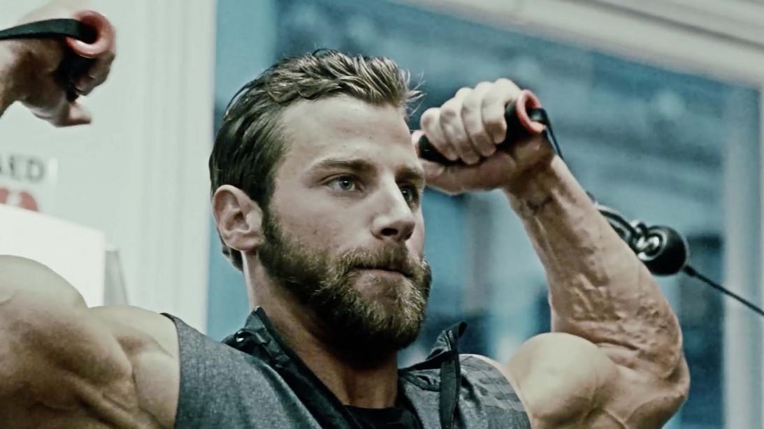 Trainer Tim McComsey demonstrates the Men's Fitness Winter Bulk-up workout plan.