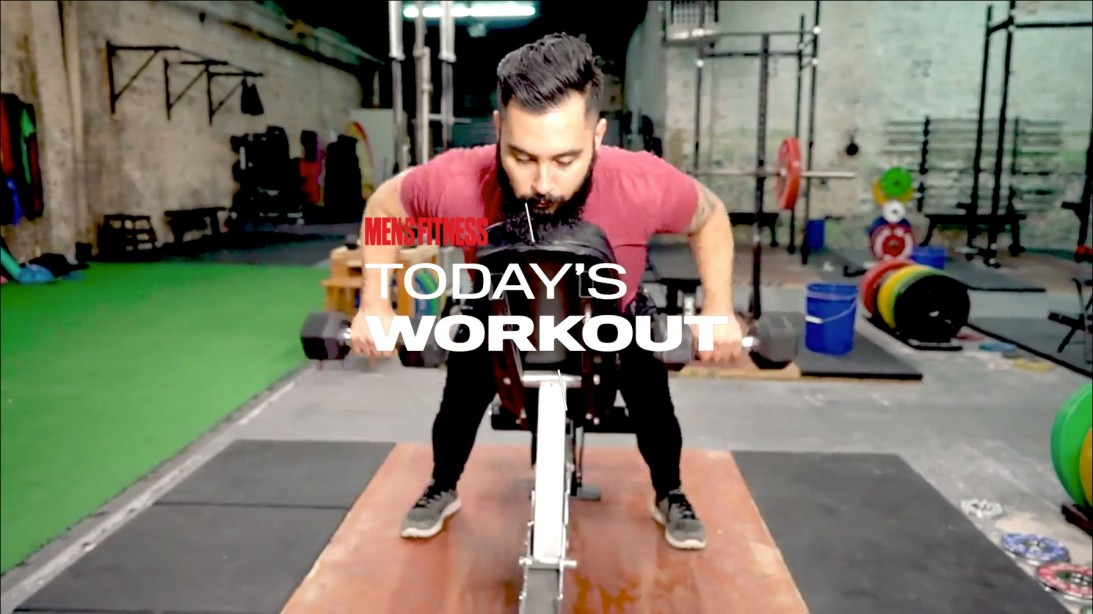 The Classic Iron Workout Program: Build strength all over on day 1