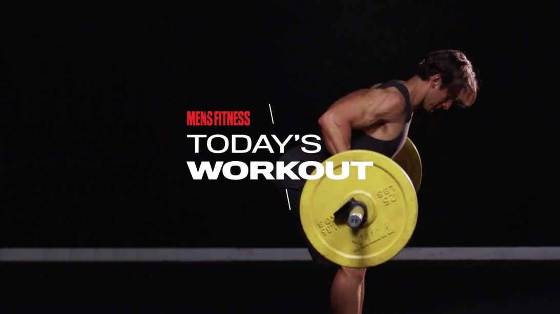 Today's Workout By Mike Simone: Barbell-Only Circuit