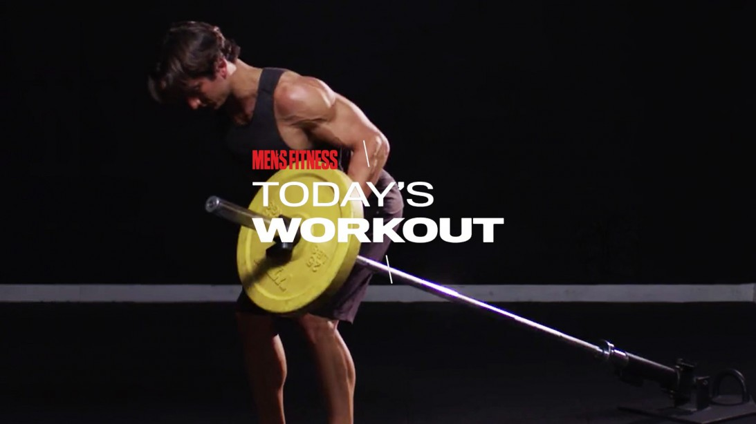 Today's Workout With Mike Simone: The Landmine Variation Circuit For Upper-Body Mass