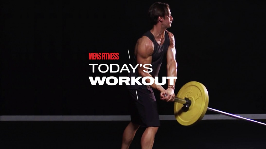 Today's Workout With Mike Simone: Two-Move Routine For Upper-Body Mass