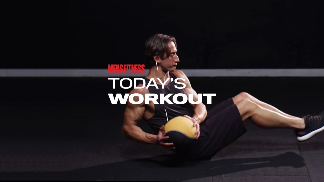 Today's Workout With Mike Simone: Shred Your Core With These Simple Moves