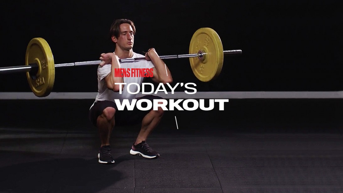 Today's Workout With Mike Simone: The Barbell Squat Circuit To Increase Lower-Body Mass