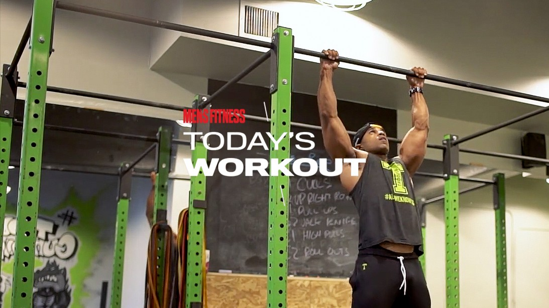 Today's Workout to Build a Muscular Upper-Body