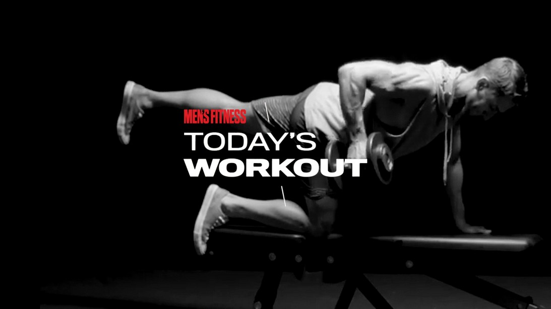 Today's Workout with Mike Simone: 3 Moves to Blast Your Back and Abs