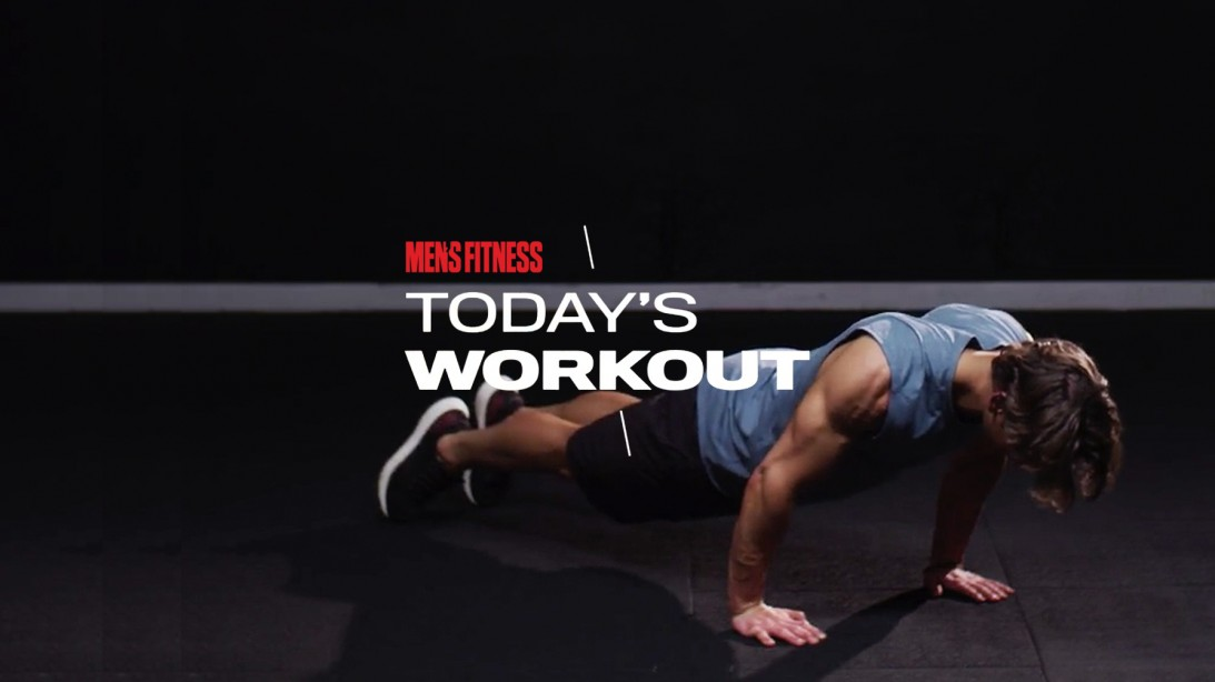 Today's Workout With Mike Simone: The No-Equipment Circuit to Build Muscle