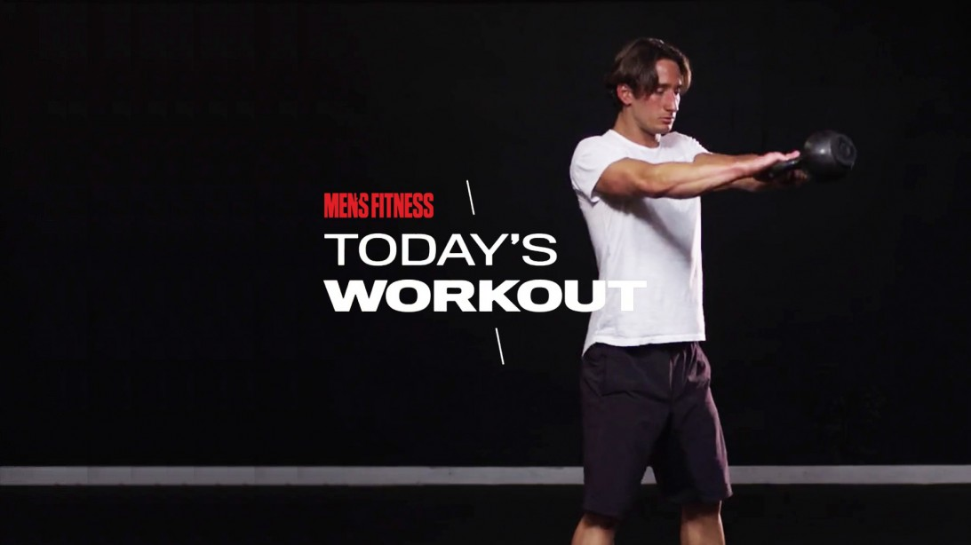 Today's Workout With Mike Simone: The Kettlebell Bracket Circuit to Blast Your Upper-Body