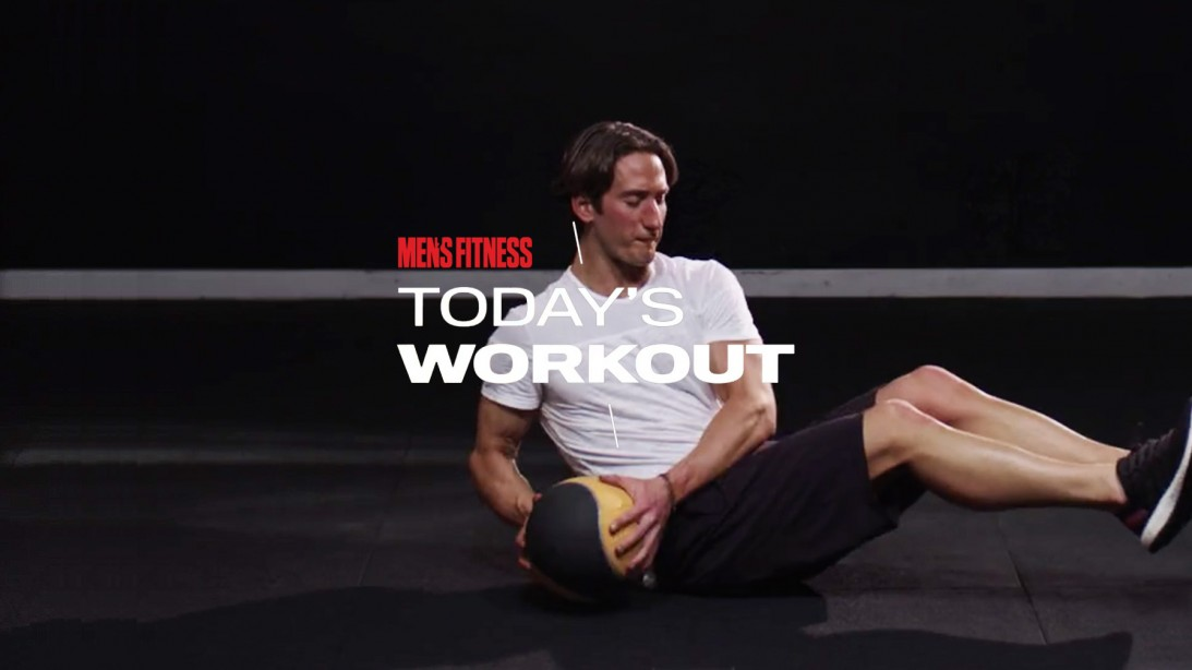 Today's Workout With Mike Simone: The Medicine Ball Circuit To Crush Your Core And Quads