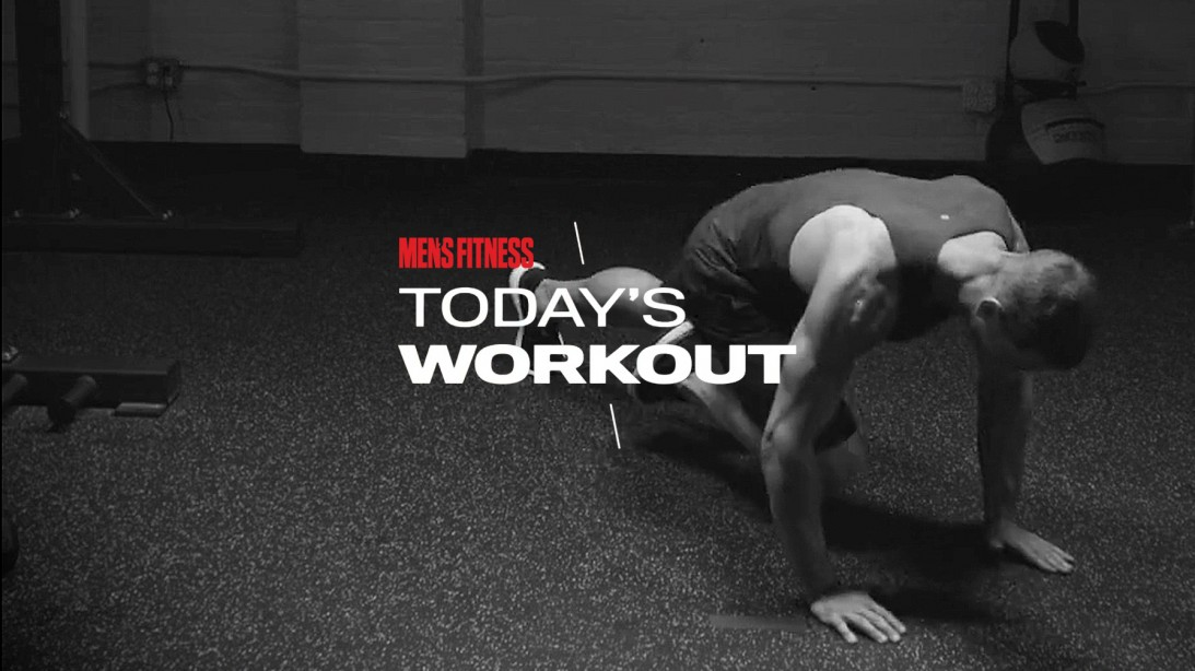 Today's Workout 117: The 10-round, high-intensity circuit to melt flab