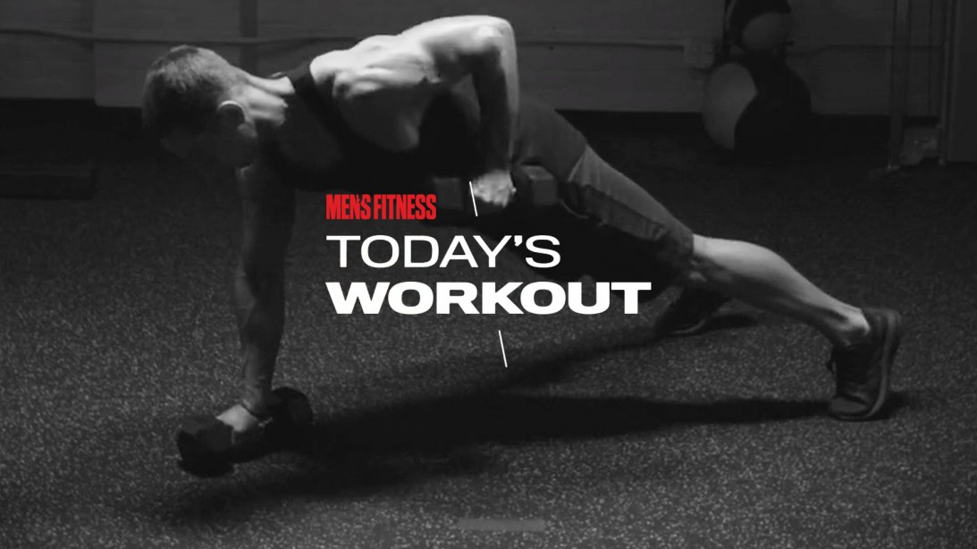 Today's Workout with Mike Simone: 10-Minute Circuit to Push the Limit