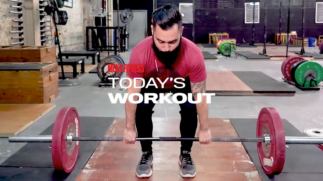 The Classic Iron Workout Program: Day 7
