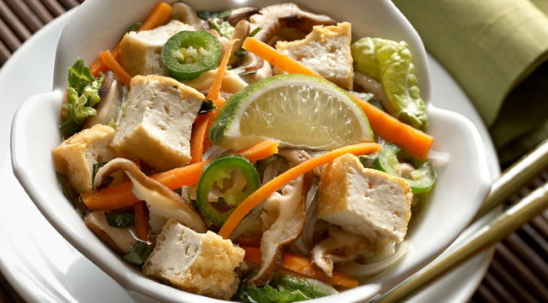 Vegetarian Fix: Tofu Noodle Bowl