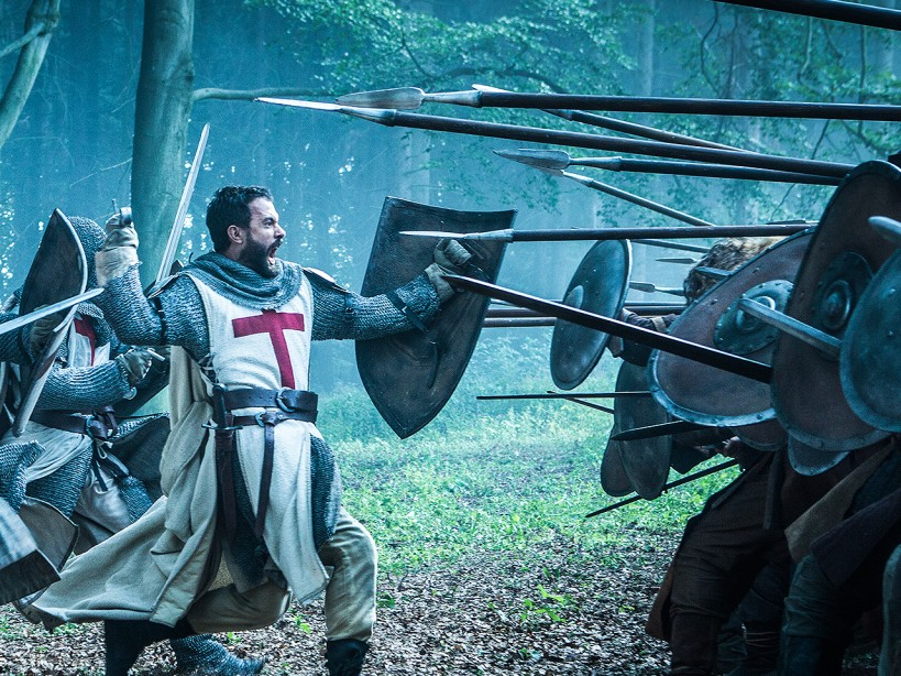 Tom Cullen's 'Knightfall' Workout Routine