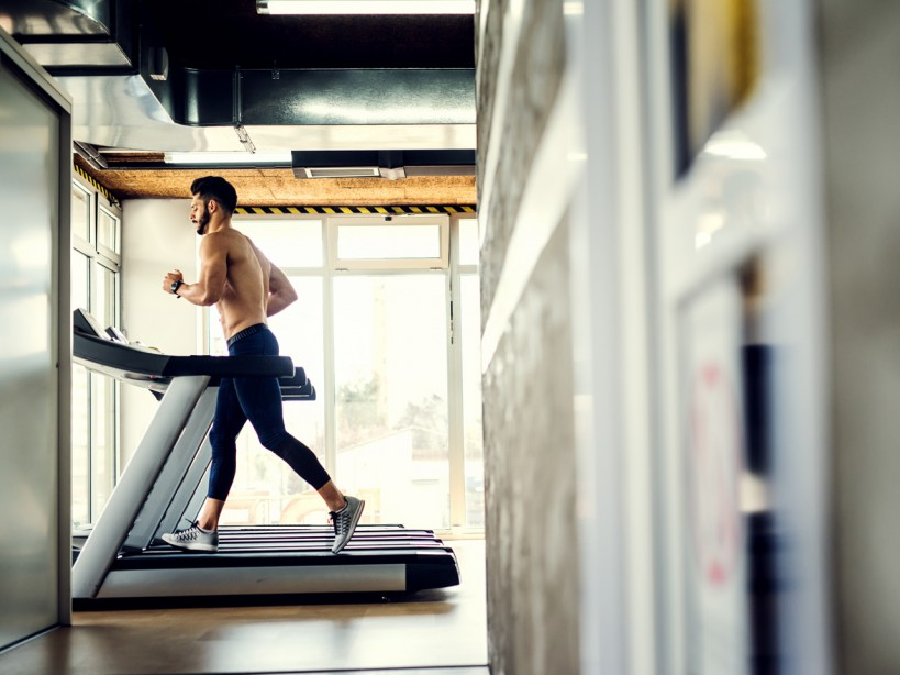 Running of Treadmill