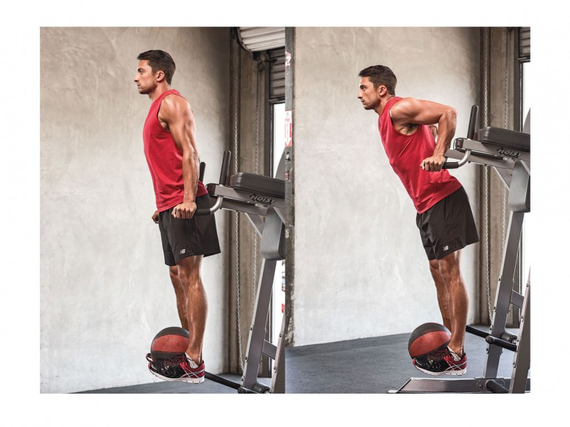 Weighted Triceps Dip
