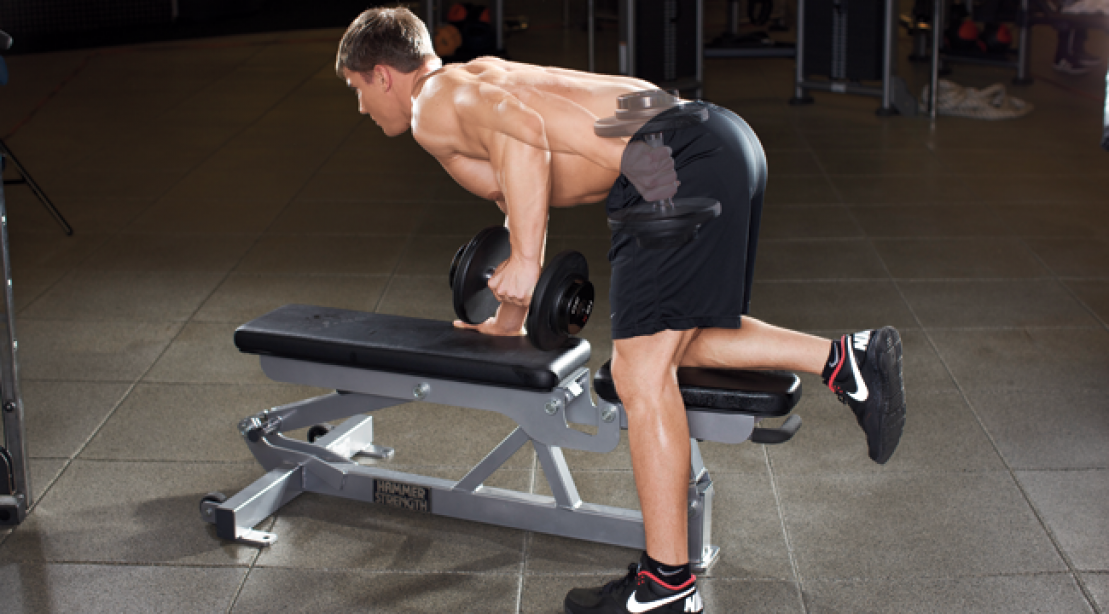 Target Your Tris With the Triceps Kickback