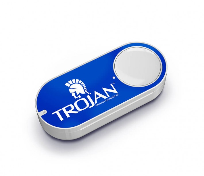 Trojan Offers Condoms On-Demand with New Amazon Dash Button