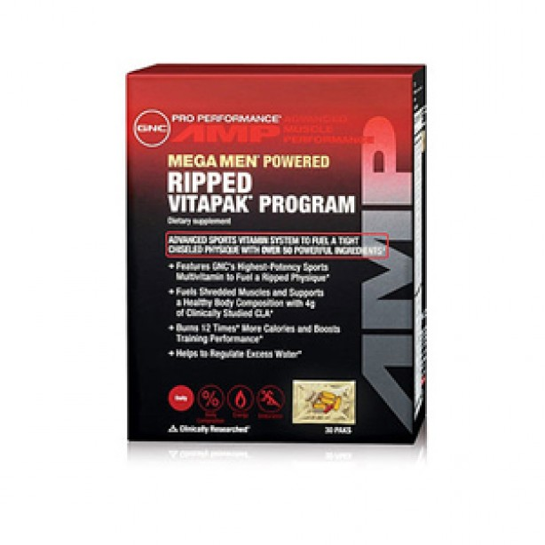 Pro Performance AMP Ripped Vitapak Program
