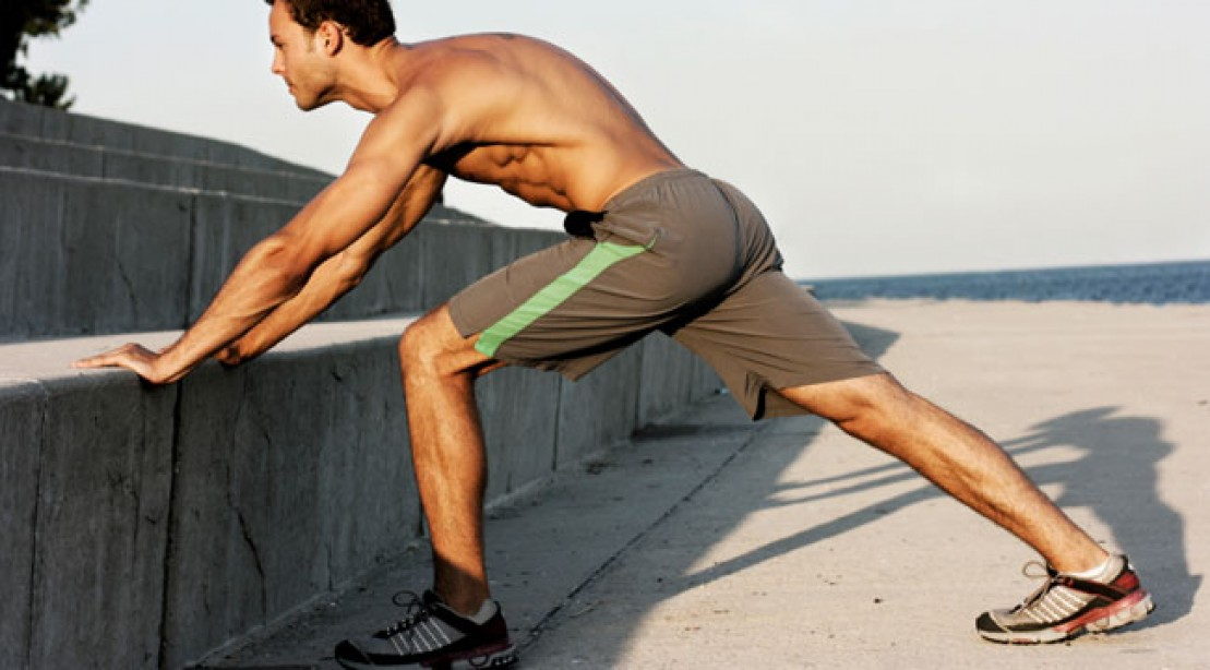 lower-body warm-up