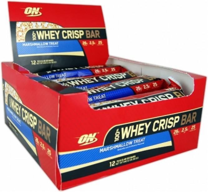 100% Whey Crisp Bars (Optimum)