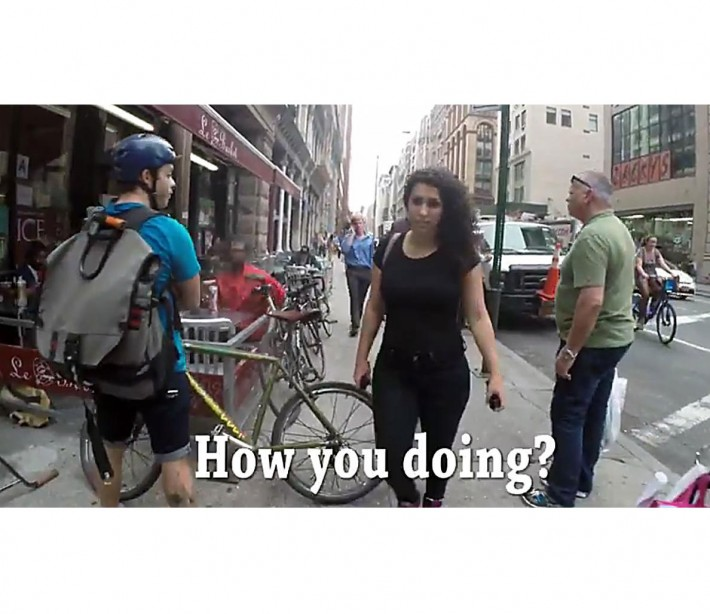 Woman Gets Catcalled in NYC 108 Times