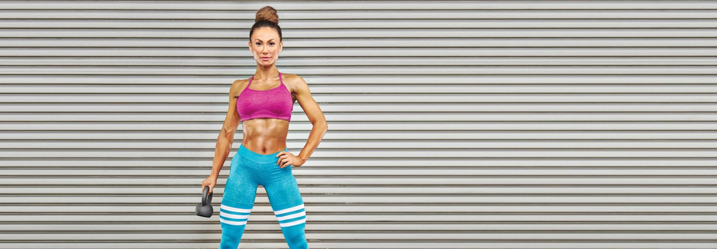 Compound Movements Plan Woman With Kettlebell  thumbnail