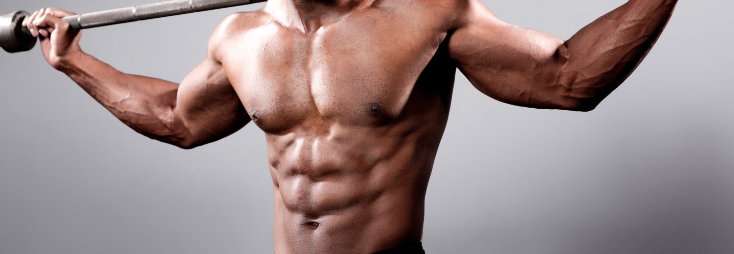 How to get chest and abs fast at home