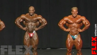 Epic Olympia Showdown: COLEMAN vs. CUTLER, 2004
