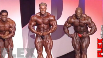 Epic Olympia Showdown: COLEMAN vs. CUTLER, 2005