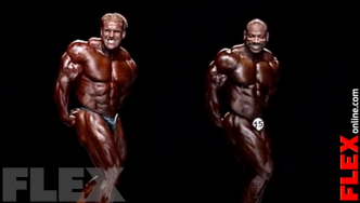 Epic Olympia Showdown: JACKSON vs. CUTLER, 2008