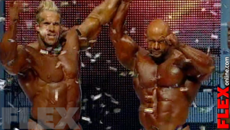 Epic Olympia Showdown: CUTLER vs. WARREN, 2009