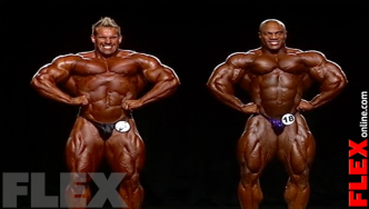 Epic Olympia Showdown: HEATH vs. CUTLER, 2010