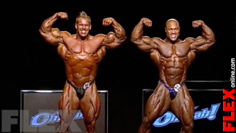 Epic Olympia Showdown: HEATH vs. CUTLER, 2011