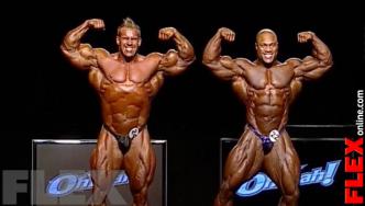 Epic Olympia Showdown: HEATH vs. CUTLER, 2011